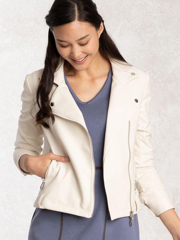 Ivory Stretch Riders Jacket