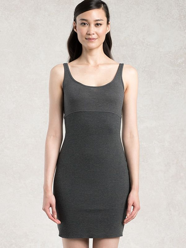 Charcoal Gray Warm Under Dress
