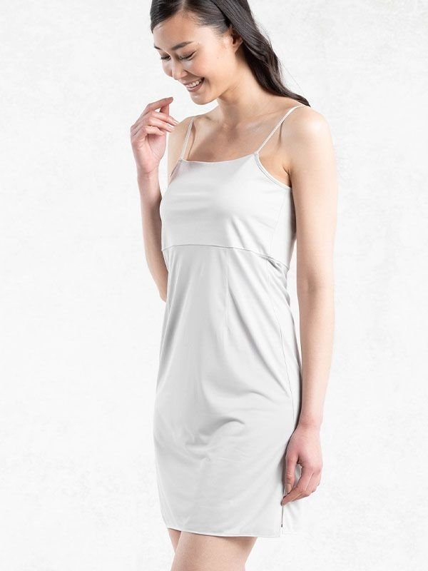 Light Gray Camisole Dress