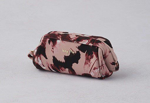 Pink tassel Boxy Pouch - Small