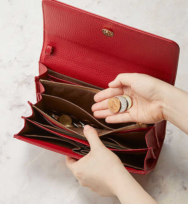 29 Pockets Wallet Bag