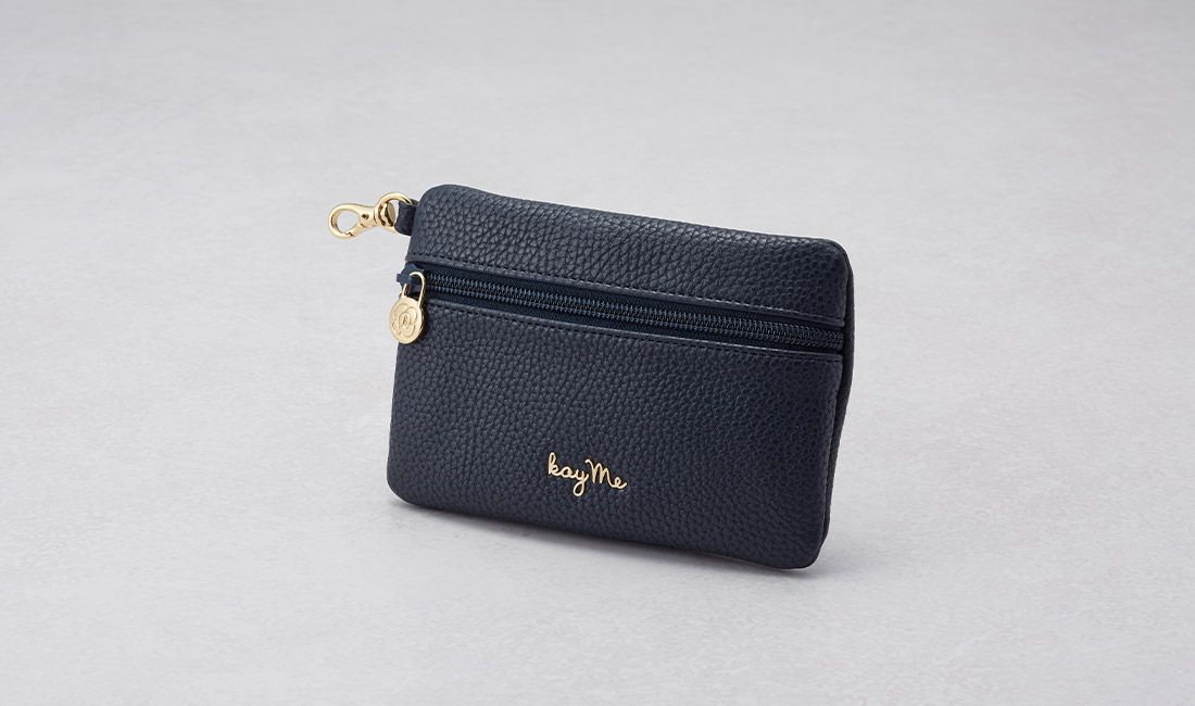 Navy ​Valuables pouch