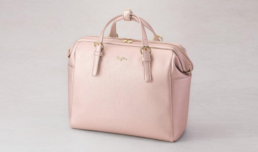 ピンク きちんとリュック&バッグ2.0