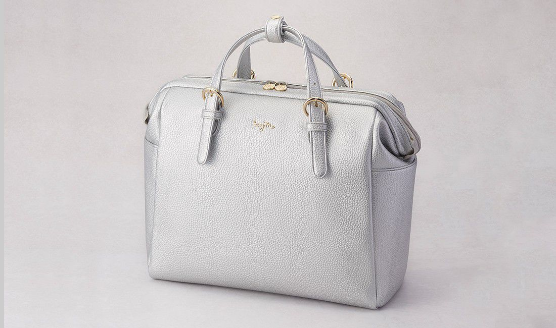 Silver Two-way Business Bag 2.0