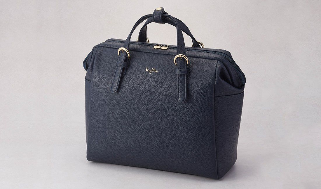 Navy Two-way Business Bag 2.0