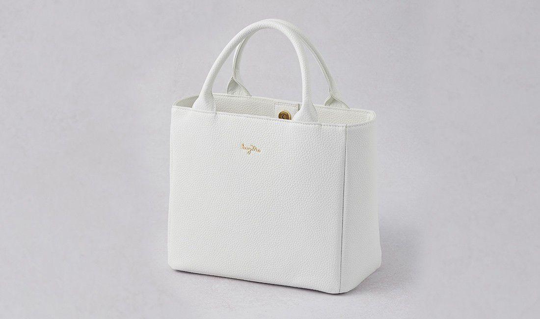 ホワイトおともトートバッグ