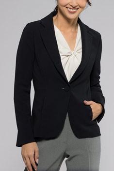 紺テーラードジャケット