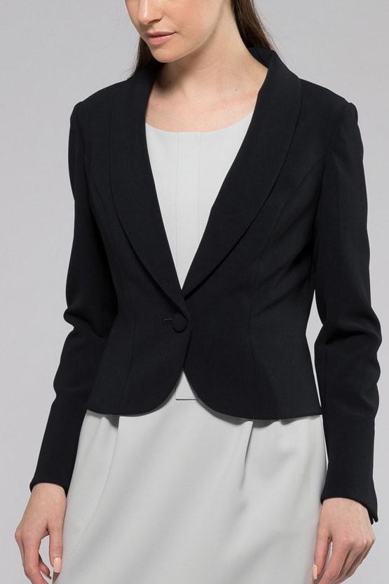 紺ショートジャケット