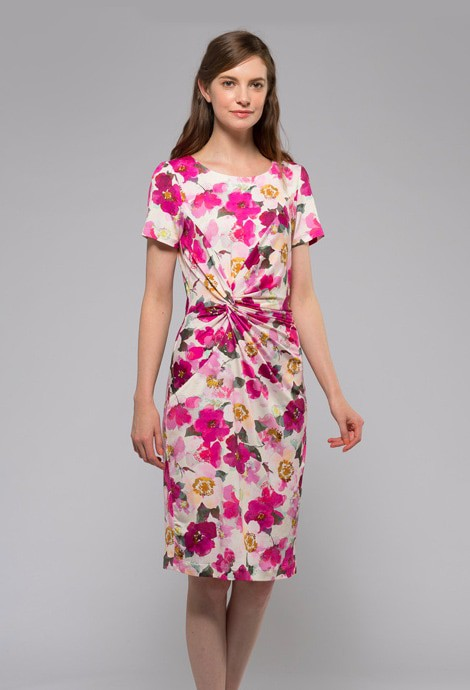 Caroline Double Twist Dress