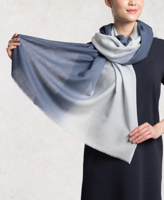 Grey Silk Wool